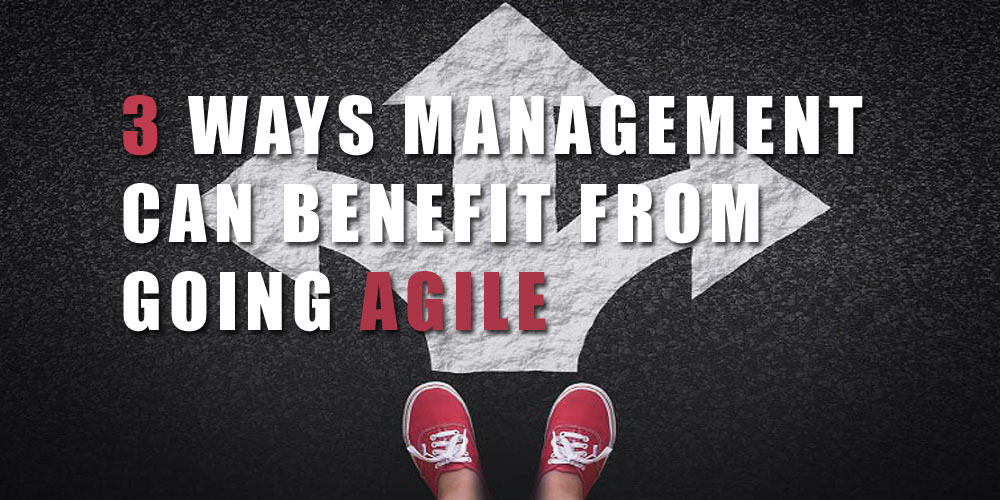 3 WAYS MANAGEMENT CAN BENEFIT FROM GOING AGILE