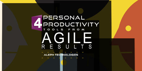 4 Personal productivity tools from Agile results