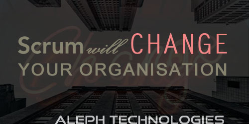 Scrum will change your organization!