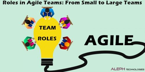 Roles on Agile Teams: From Small to Large Teams