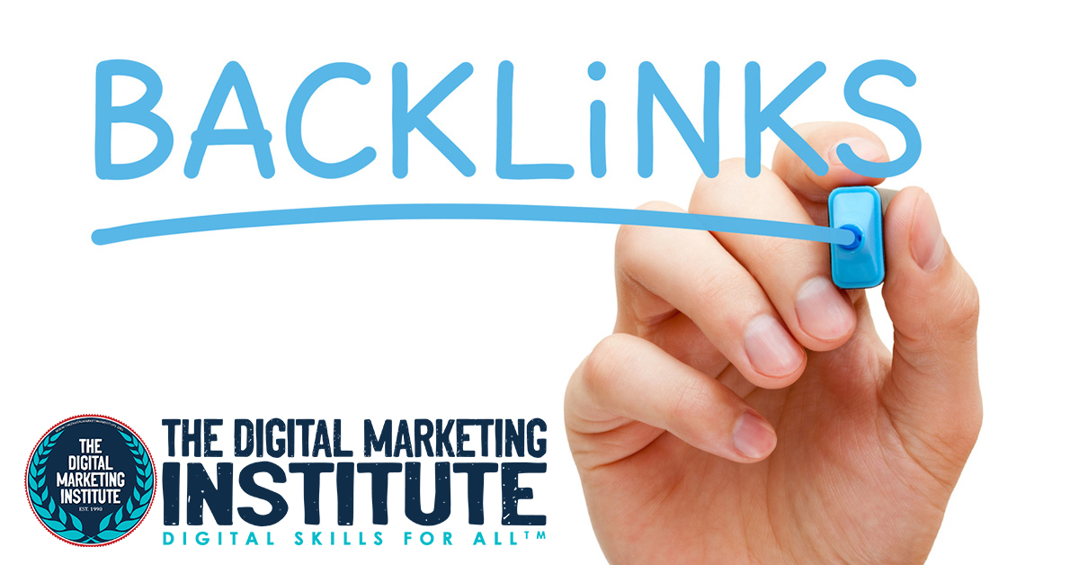 What does creating backlinks mean in Digital marketing?
