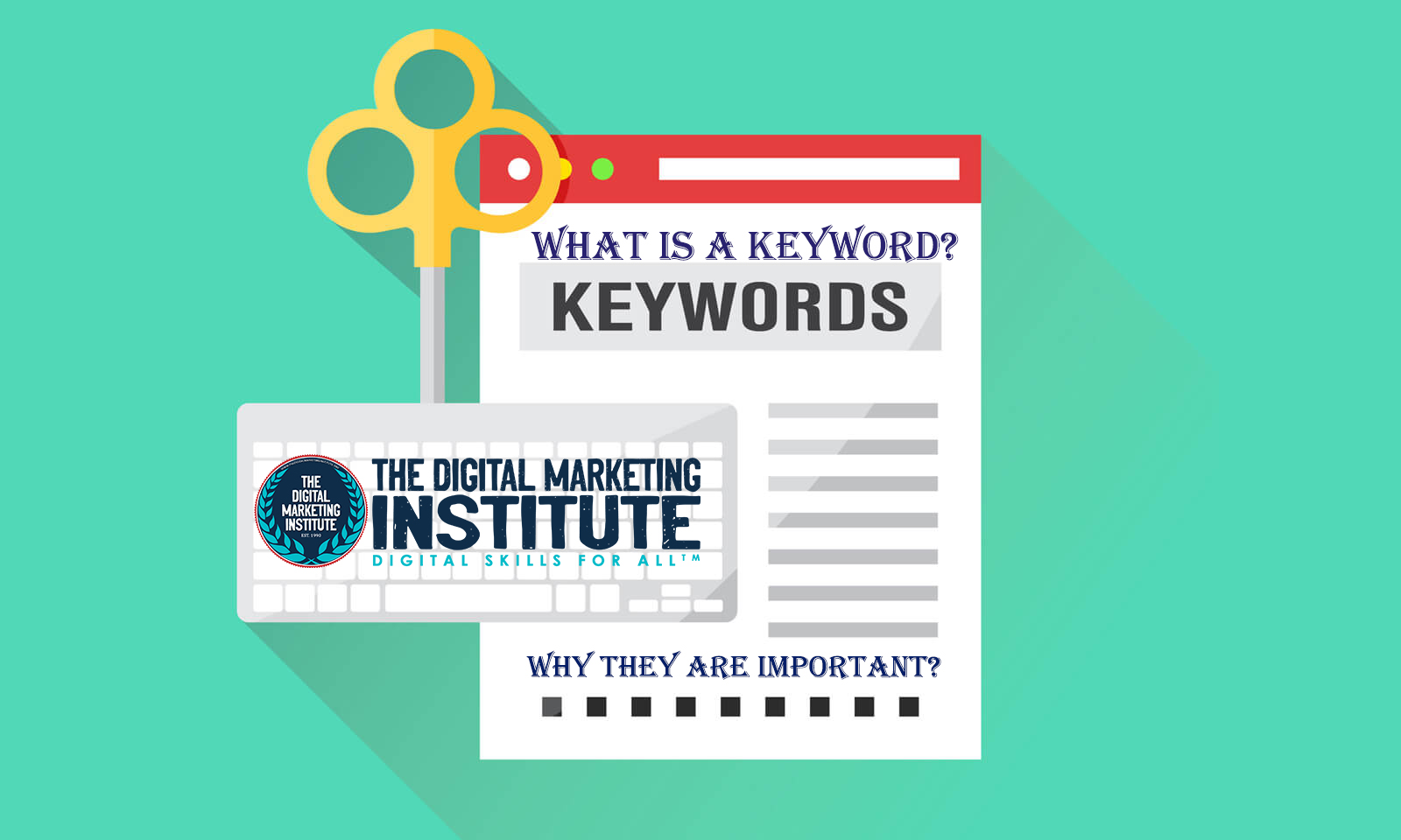 What is a keyword? and Why they are important?